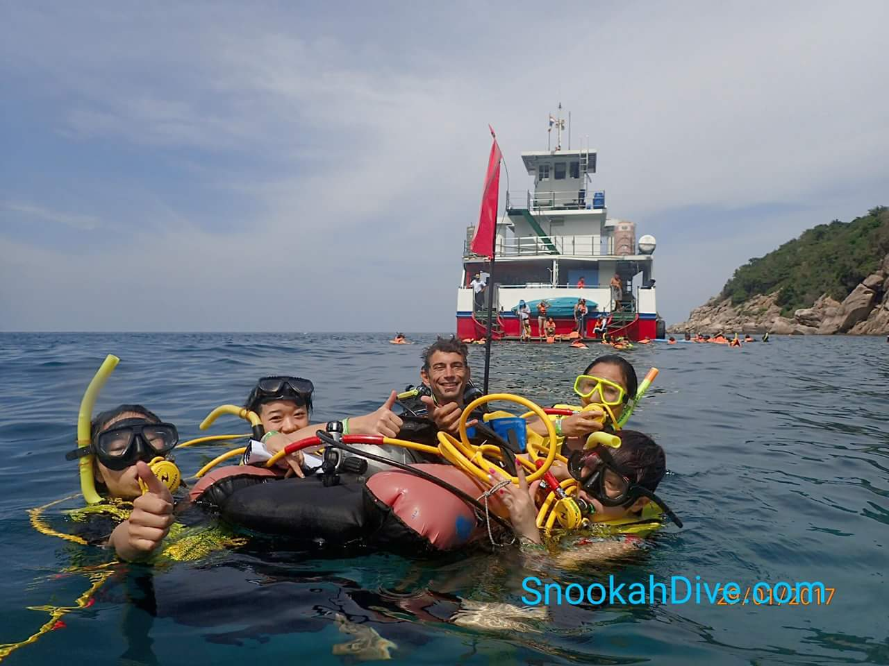 Dive Center For Sale - Watersports Operation in the Gulf of Thailand. Own & Operate A Business in Paradise.