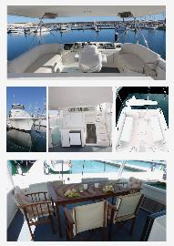 Dive Boat for sale - Motor Yacht 14.50 m with stabilizers to use for Diving - Sportfishing oa Tune and B&B or Airbnb