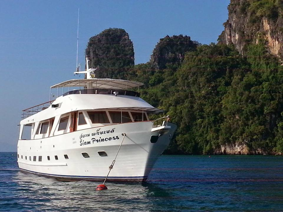 Dive Center For Sale - Siam Princess 70ft motor cruiser based in Phuket