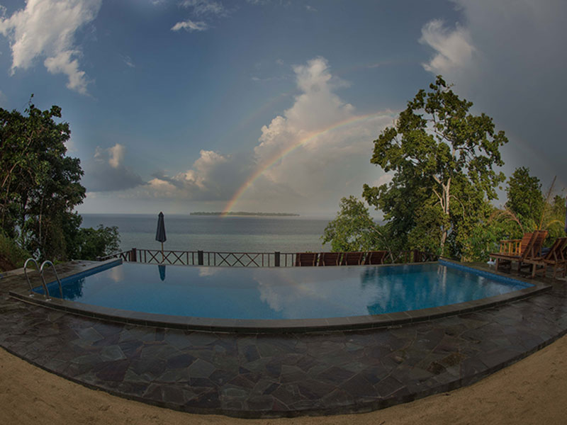 Dive center for sale boutique dive resort in bunaken north sulawesi indonesia with real estate - Raja laut dive resort ...
