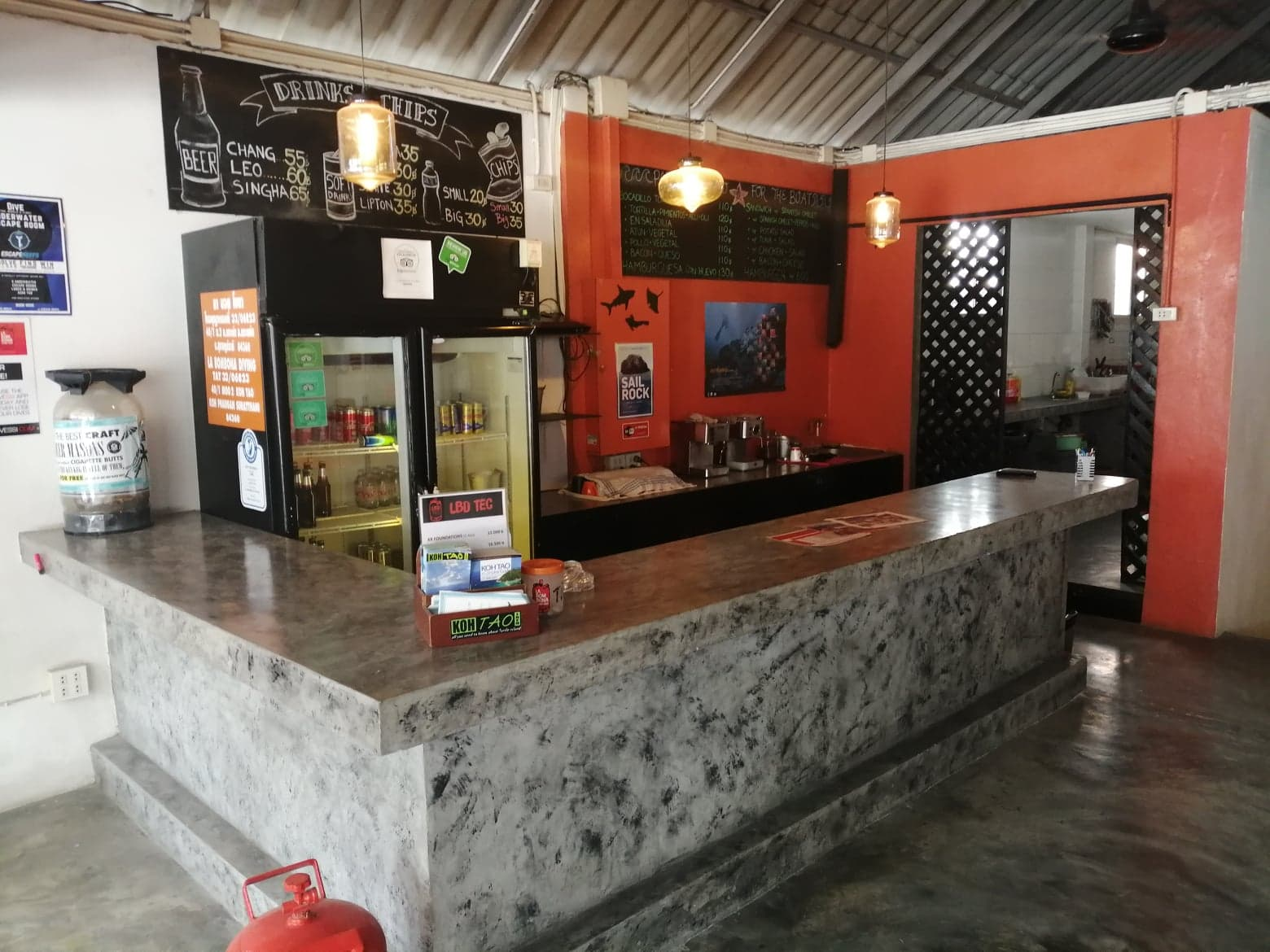 Dive Center For Sale - Dive Centre Cafe / Restaurant Opportunity